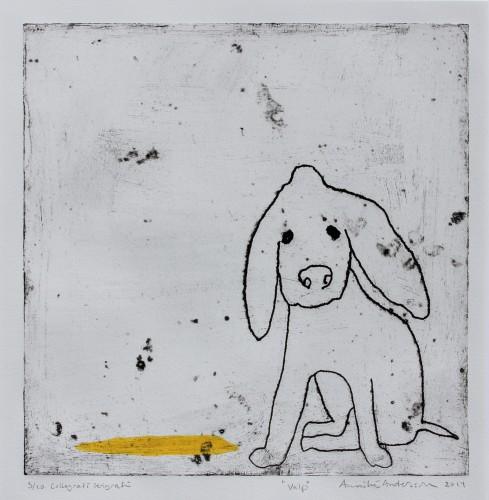 Valp, collografi, 2014