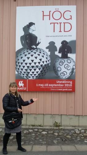 Utställning för Konstnärer Konsthanverkare och slöjdare.